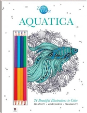 Zen Color: Aquatica | Colouring Book