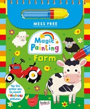 Magic Painting Farm | Paperback Book