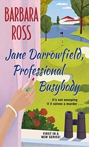 Jane Darrowfield, Professional Busybody (jane Darrowfield Mysteries) | Paperback Book