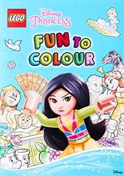 Lego Disney Princess: Fun To Colour | Paperback Book