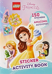 Lego Disney Princess: Sticker Activity Book | Paperback Book