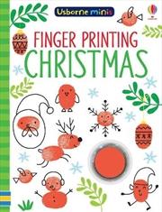 Finger Printing Christmas (usborne Minis)   Paperback Book