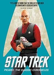 Star Trek: Classic Picard | Paperback Book