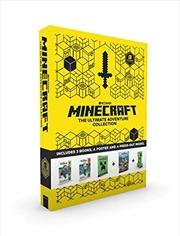 Minecraft: The Ultimate Adventure Collection | Paperback Book
