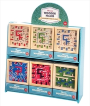 Classic Wooden Mazes (Sent At Random) | Merchandise