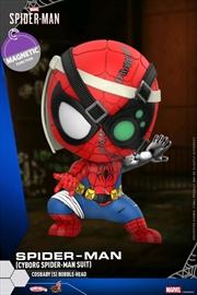 Spider-Man - Cyborg Spider-Man Cosbaby | Merchandise