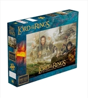 Lord Of The Rings: Trilogy 1000 Piece Puzzle | Merchandise