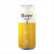 Beer Puzzle - Lager 2 X 100 Piece Puzzle | Merchandise