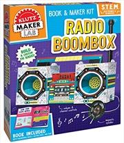 Radio Boombox | Paperback Book
