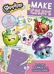 Shopkins: Make & Create Activity Book | Paperback Book