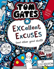 Tom Gates #2: Excellent Excuses (and Other Good Stuff) (re-release) (paperback) | Paperback Book