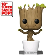 "Guardians of the Galaxy - Dancing Groot 18"" Pop! Vinyl 