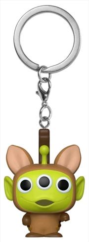 Pixar - Alien Remix Bullseye Pocket Pop! Keychain | Pop Vinyl