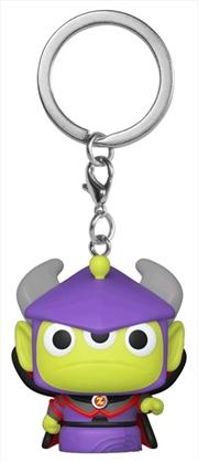 Pixar - Alien Remix Zurg Pocket Pop! Keychain | Pop Vinyl
