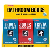 Bathroom Jokes (SENT AT RANDOM) | Hardback Book