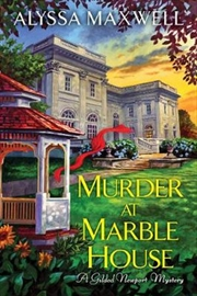 Murder At Marble House - Gilded Newport Mysteries | Paperback Book