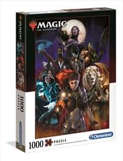 Magic The Gathering 3 - 1000 Piece Puzzle | Merchandise