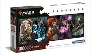 Magic The Gathering Panorama 1000 Piece Puzzle | Merchandise