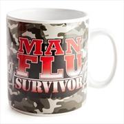 Man Flu Survivor Huge Mug | Merchandise
