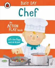 Busy Day: Chef | Board Book
