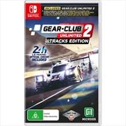 Gear Club Unlimited 2 - Tracks Edition | Nintendo Switch