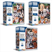 Radiant Series - Crown 1000 Piece Puzzle (SELECTED AT RANDOM) | Merchandise