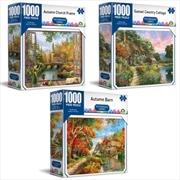 Picturesque Series - Crown 1000 Piece Puzzle (SELECTED AT RANDOM)   Merchandise