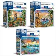 Imagine Series - Crown 1000 Piece Puzzle (SELECTED AT RANDOM)   Merchandise