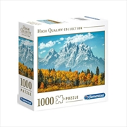 Grand Teton In Fall 1000 Piece Puzzle | Merchandise