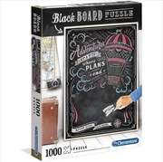 Blackboard Travel 1000 Piece Puzzle | Merchandise