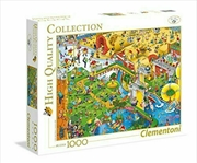 HQC Crowded Puzzle 1000 Piece | Merchandise