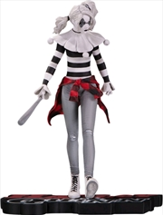 Batman - Harley Quinn Red, White & Black by Steve Pugh Statue | Merchandise
