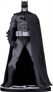 Batman - Batman Black & White by Jim Lee Designer Mini Statue | Merchandise