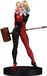 Batman - Harley Quinn by Frank Cho Cover Girls Statue | Merchandise