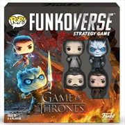 Funkoverse - Game of Thrones 100 4-pack Board Game | Merchandise
