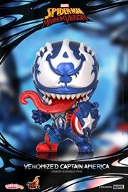 Venom - Venomized Captain America Cosbaby | Merchandise