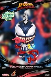 Venom - Venomized Captian Marvel Cosbaby | Merchandise