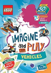 Lego Imagine And Play: Vehicles   Books