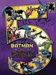 Batman: 5-minute Stories | Hardback Book