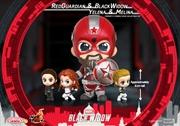 Black Widow - Black Widow, Yelena, Red Guardian & Melina Cosbaby Set | Merchandise