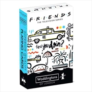 Friends Waddingtons Number 1 Playing Cards | Merchandise