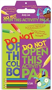 Do Not Open This Activity Pack | Paperback Book