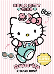 Hello Kitty Dress-up Sticker Book | Paperback Book