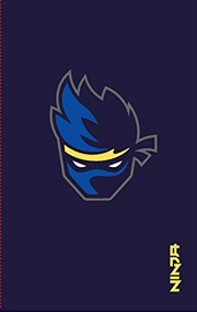 Ninja Notebook: Notebook With Stickers And Tips To Improve Your E-game | Paperback Book
