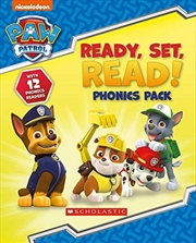 Ready, Set, Read! 12 Book Phonics Box (paw Patrol) | Paperback Book