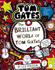 Tom Gates #1: The Brilliant World Of Tom Gates (re-release) | Paperback Book