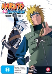 Naruto Shippuden Chakra - Collection 6 - Eps 356-430 | DVD