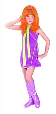 Daphne Deluxe Child  Costume - Size L    Apparel