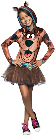 Scooby Girls Hooded Costume: Large   Apparel
