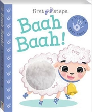 First Steps Touch and Feel: Baah Baah! | Board Book